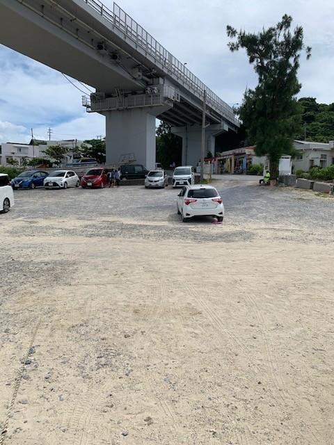アンチ浜 ビーチ前 駐車場