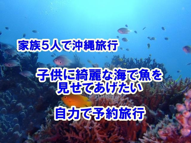 沖縄旅行 家族5人 格安